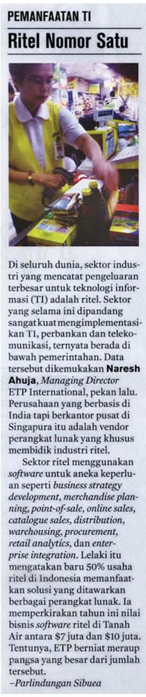 Business Week Covers ETP International