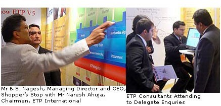 ETP International Creates Buzz at Launch of ETP V5.2, an End-to-End Retail Solution at Images Fashion Forum 2006 in India1