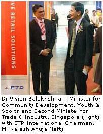 ETP International Launches ETP V5.x at RITE 2005, Singapore. 1(September – 2005)