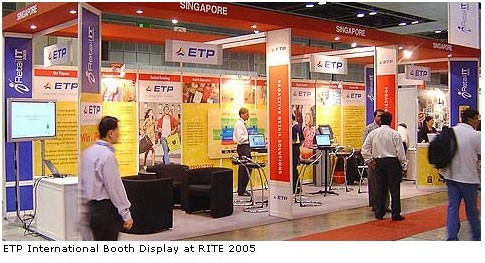 ETP International Launches ETP V5.x at RITE 2005, Singapore. (September – 2005)
