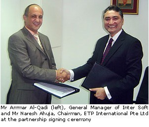 ETP International Signs Premier Business Partner In Saudi Arabia