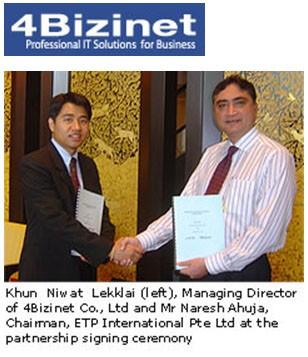 ETP International Signs Premier Business Partner In Thailand