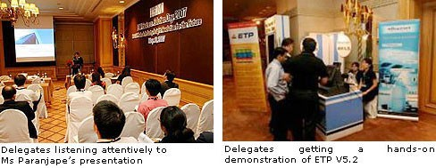 ETP Participates in IBM Business Solution Day 20071
