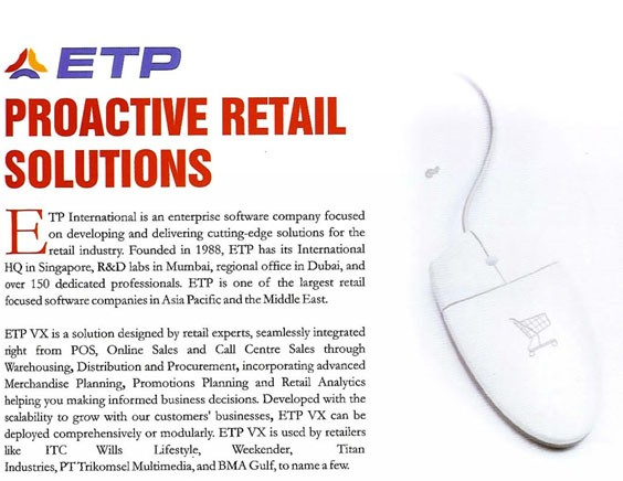 ETP Proactive Retail Solution
