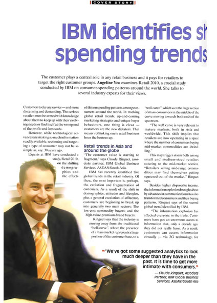 IBM identifies shifting global spending trends in Retail 2010