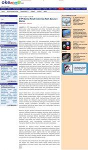 Indonesia's Okezone Acknowledges ETP and PT Jatis Partnership and Retail NEXT Indonesia