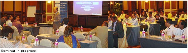 Leading Retailers In India Attend Seminar On The World's Top 200 Retailers - Insights and Lessons for India Retailers