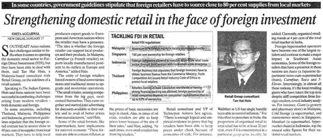 Retail NEXT India speaker Tan Hai Hsin interviewed by India Express