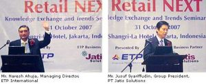 Retail NEXT Indonesia Attracts More Than 60 Leading Retailers (2007)