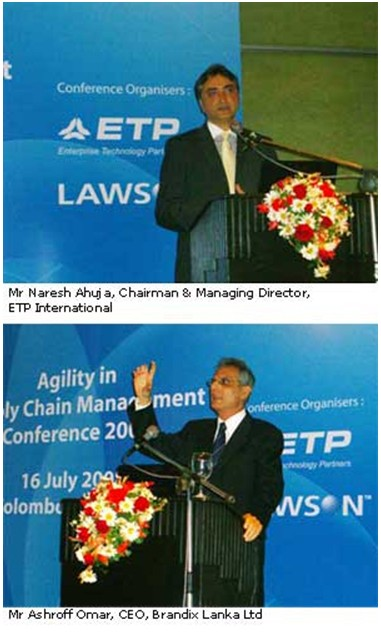 Sri Lanka's Top Companies Attend Agility in Supply Chain Conference 2008