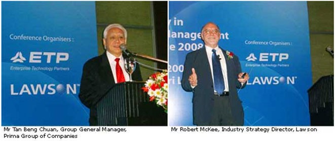 Sri Lanka's Top Companies Attend Agility in Supply Chain Conference 20081
