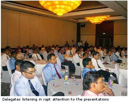 Sri Lanka's Top Companies Attend Agility in Supply Chain Conference 20082