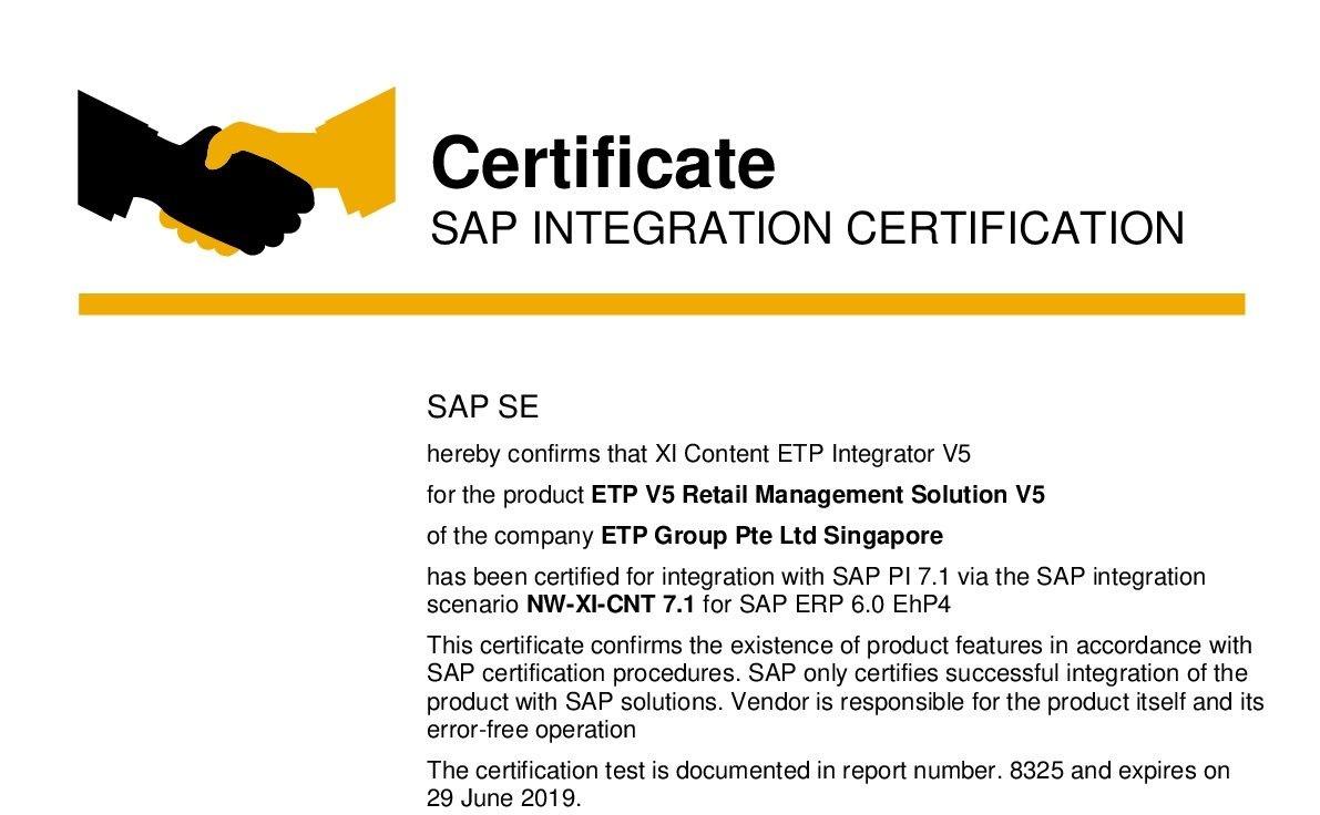 SAP etpgroup-integration